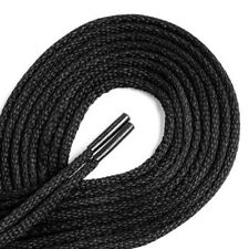 Black Strong 90cm Round Shoe Laces For Shoes / Boots