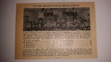 South Brownsville High School & Smethport Pennsylvania 1926 Football Team Pictur