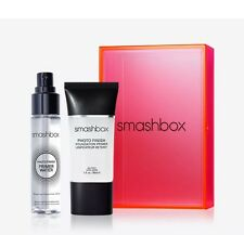 New SMASHBOX Light It Up Primer Set - Photo Finish Primer & Primer Water BNIB