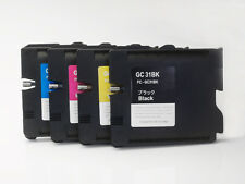 Refill GC31 4Pcs  Ricoh ink catridge for GXe2600/e3300/e3300N/e3350N/e5050N