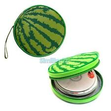 24 Sheets CD Game Holder Sheet DVD Case Storage Wallet Disc Organizer Watermelon