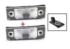 VW Golf IV V Jetta 2x LAMPE d'éclairage de plaque d'immatriculation