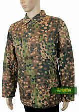 REPRO WW2 GERMAN ARMY M44 COMBAT JACKET in ERBSENTARN CAMO size 56=46 INCH CHEST