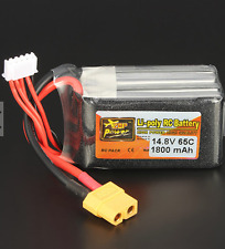 ZOP Power 2kW 14.8V 1800mAh 65C 4S Lipo Battery XT60 Plug