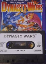 DYNASTY WARS (Capcom) c 64 cassette (TAPE) (Game, Manual, imballaggio)
