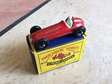 MATCHBOX REGULAR WHEEL No 52a MASERATI RACING CAR, BOXED