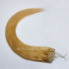 USA STOCK! Full Head Indian Remy 24inch Silicone Loop Human Extensions,1g/s,100g