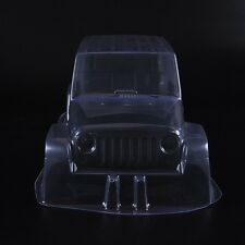 "Clear PVC Body Shell Paintable 12.3"" 313mm For 1/10th  Scale RC Crawler Car"