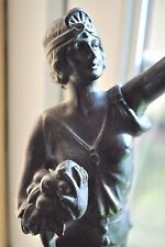 ORIGINALE Art Deco Francese Lady Lampada da tavolo - 1920's/1930's - Antique lampbase