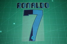Real Madrid 12/13 #7 RONALDO Homekit Nameset Printing