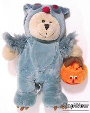 Starbucks bearista bear 2008 halloween owl édition 76th jouet doux en peluche