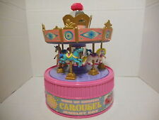 Wind Up Musical Carousel Jewelry Box -Moose Mountain Toymakers, 1997-