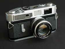 Canon 7 35mm Rangefinder Film Camera with 50 mm lens Kit, Ready to Shoot
