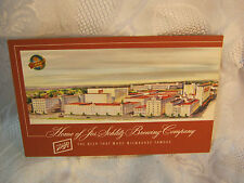 THE SCHLITZ BREWING CO. MILW. WI BEER  POSTCARD