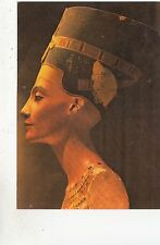 BF28021 egypt painted limestone bust of queen nefertyiti    front/back image