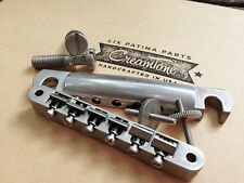 CreamTone Lightly Aged Nickel ABR-1 Bridge and Tailpiece for Historic Gibson