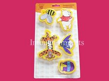 New Disney Winnie The Pooh Eeyore Tigger 5pcs Cookie Biscuit Cutters Sugarcraft