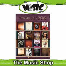 New Top Hits of 2012 PVG Music Book - Piano Vocal Guitar