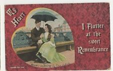 My Heart, I Flutter At The Sweet Remembrance, JWS 3649 Postcard, B405