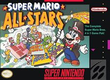 Super Mario All-Stars (Super Nintendo Entertainment System, 1993) FREE SHIPPING!