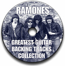 27x RAMONES STYLE PUNK ROCK GITARRE PLAYBACK JAM TITEL CD ANTHOLOGY COLLECTION