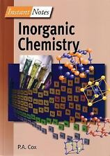 Inorganic Chemistry (Instant Notes Series,)-ExLibrary