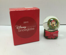 Disney Collectible Snowglobe Mickey Mouse Minature JC Penny - 2011 - Snow Globe