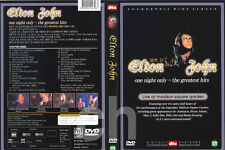 Elton John : One Night Only - The Greatest Hits   DVD NEW