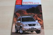 138110) Suzuki Grand Vitara Prospekt 03/2004