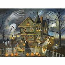 HAUNTED HAVEN by Ruane Manning - NEW - 300 LARGE piece HALLOWEEN Puzzle