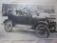 FORD MODEL T  EARLY TOURING  FAMILY ALL DRESS UP   11 X 17  PHOTO /  PICTURE