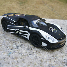 Porsche 918 Martini Black & White 1:32 Sports Alloy Diecast Car Model Gifts Toys