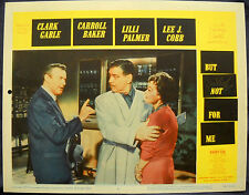 BUT NOT FOR ME MOVIE POSTER Clark Gable/Lilli Palmer-1959