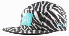 NEW DGK Zebra Mens 5 Panel Hat Cap