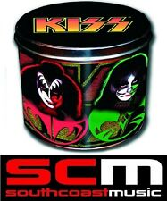 KISS GIFT TIN SET COFFEE MUG CUP & KEY RING.... Licenced product