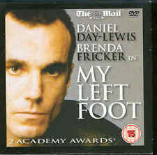 MY LEFT FOOT - Starring Daniel Day-Lewis - Winner of 2 Academy Awards ***DVD***