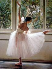 Art Canvas Print Ballet Oil painting Picture Printed on canvas 16X20 Inches P171