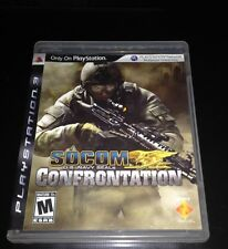 Socom Confrontation PlayStation 3 complete with user guide.
