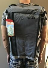 New With Tags The North Face Base Camp Kaban Backpack Camping Grey