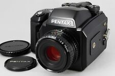 EXC+++++ Pentax 645N Body w/SMC Pentax A 75mm F/2.8 Lens from japan #283