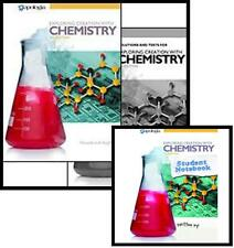 APOLOGIA EXPLORING CREATION  CHEMISTRY 3rd EDITION STUDENT TEXT, JOURNAL, TESTS