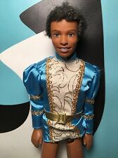 Barbie Ken Doll African American Curly Hair with Prince Shirt