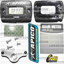 Apico Wireless Hour Meter With Bracket For Kawasaki KX 125 1986-2008 Motocross