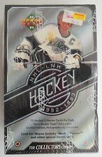 92-93 UPPER DECK HOCKEY CARDS IN FACTORY SEALED BOX 36 PACKS