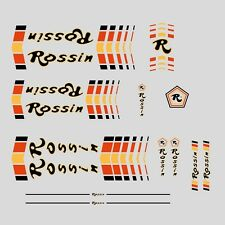 Rossin Bicycle Frame Stickers - Decals - Transfers - n.4