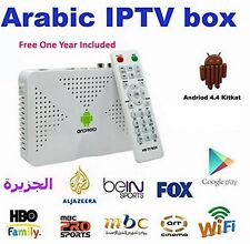 S805 Arabic IP TV Box 1 year Arabox Android 4.4.2 Buillt in WIFI HDMI + 500 chan