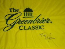 Tom Watson Signed 2014 Greenbrier Classic Flag COA