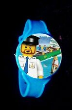 city- 8 Toy Watches- Party Favors Kids Watch Birthday Prize Loot Lego -4 Styles