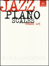 Jazz Piano Scales Grades 1-5 Sheet Music Book NEW ABRSM