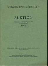HN HIRSCH Munzen und Medaillen Auktion 84 Juni 1973 Munchen